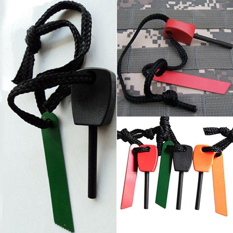 3-x-Fire-Starter-Steel-Flint-amp-Striker-Survival-Tool-Kit-Outdoor-Camping-Livi-X8N5