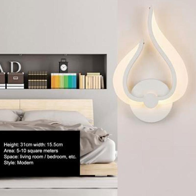 5X-Deco-interiores-de-iluminacion-de-pared-de-la-lampara-de-pared-U9W6