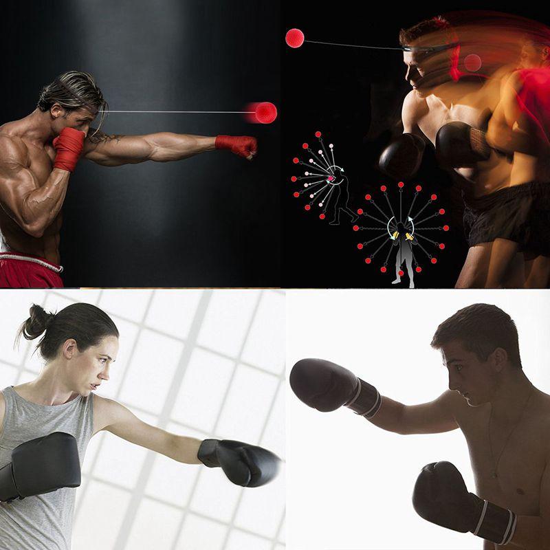 Ballon d'entrainement de vitesse de boxe Balle de Base de de de Reaction de Vites C7T3 268489