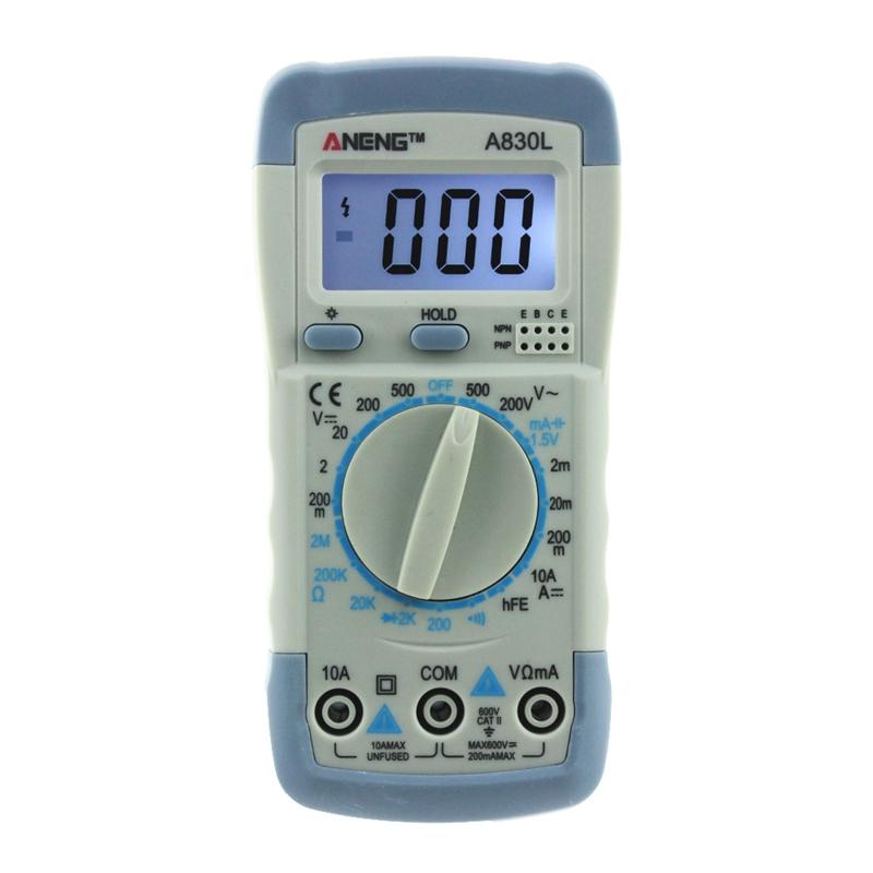 ANENG-A830L-digital-multimeter-LCD-Digital-Multimeter-DC-AC-Voltage-Diode-M6G5 Indexbild 4