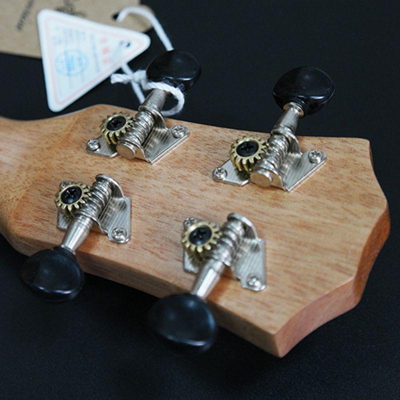 Ukulele-Uke-4-Corde-in-nylon-Sapele-in-palissandro-chitarra-Dolphin-modello-D9G9 miniatura 10