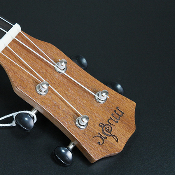 Ukulele-Uke-4-Corde-in-nylon-Sapele-in-palissandro-chitarra-Dolphin-modello-D9G9 miniatura 11
