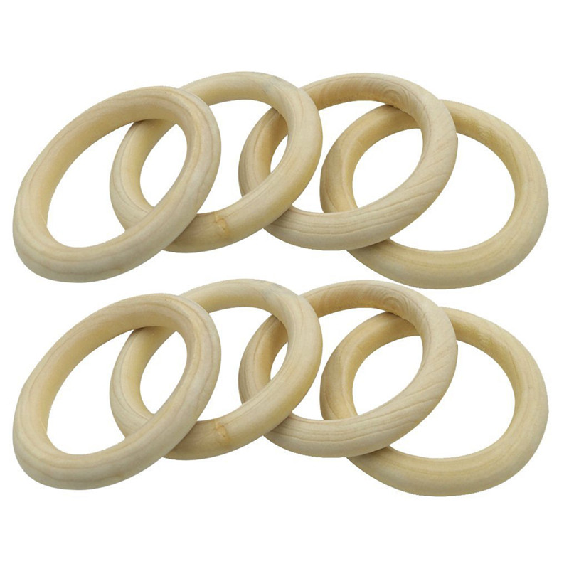 10-pcs-Natural-Wooden-Ring-Jewelry-Making-Unfinished-DIY-crafts-N1D2 thumbnail 3