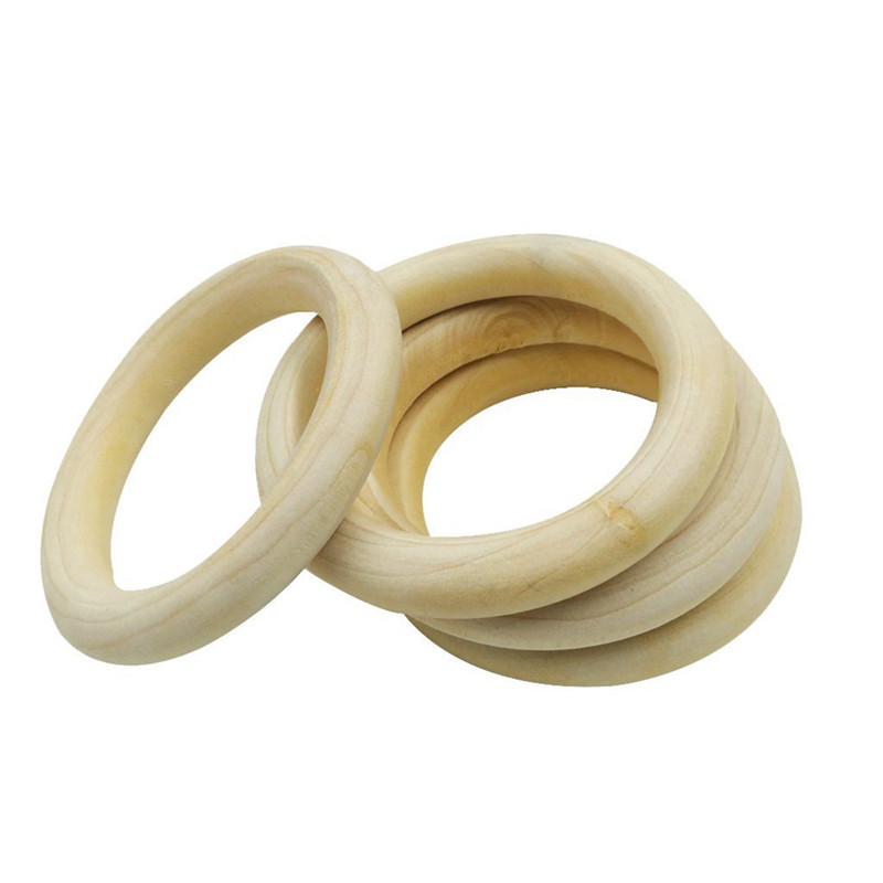 10-pcs-Natural-Wooden-Ring-Jewelry-Making-Unfinished-DIY-crafts-N1D2 thumbnail 5
