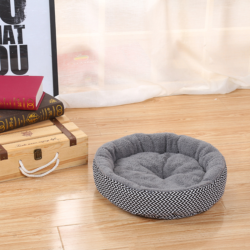 Cushion-warm-couch-bed-for-pet-puppy-dog-cat-in-winter-Grey-S-L8Z1 thumbnail 3
