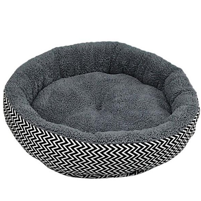 Cushion-warm-couch-bed-for-pet-puppy-dog-cat-in-winter-Grey-S-L8Z1