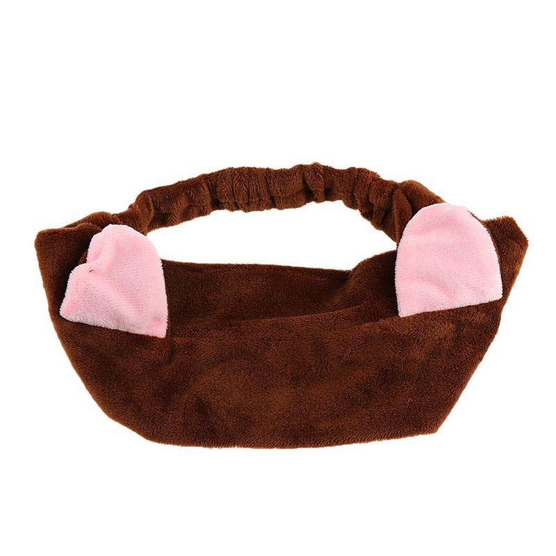 2X-Ornamento-per-capelli-con-l-039-orecchio-di-gatto-per-il-lavaggio-del-viso-J5W8 miniatura 8