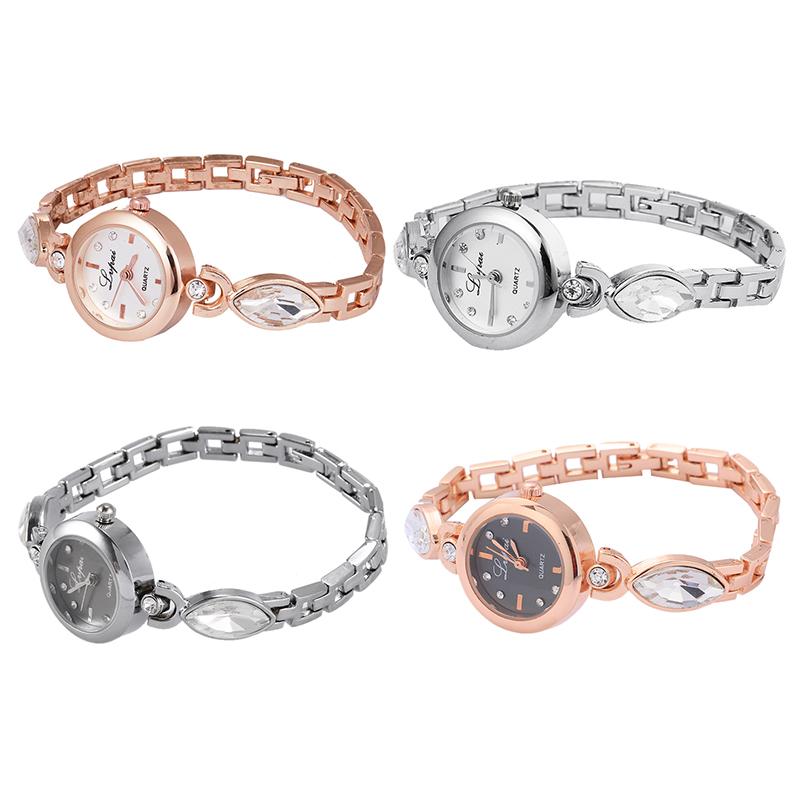 Lvpai Dropshipping Luxus Damen Armreif Uhren fuer Frauen Rhombus Guenstige G 5Q2