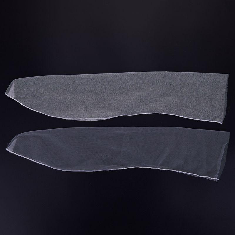 Frauen-Neuheit-Chiffon-Transparent-Mesh-kurze-Socken-Sexy-Damen-Ultra-duenn-S6E5 Indexbild 14