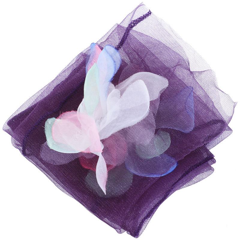 3X-Frauen-reizvolle-grosse-Blumen-Maschen-transparente-Elastizitaets-Socken-D4T5 Indexbild 6