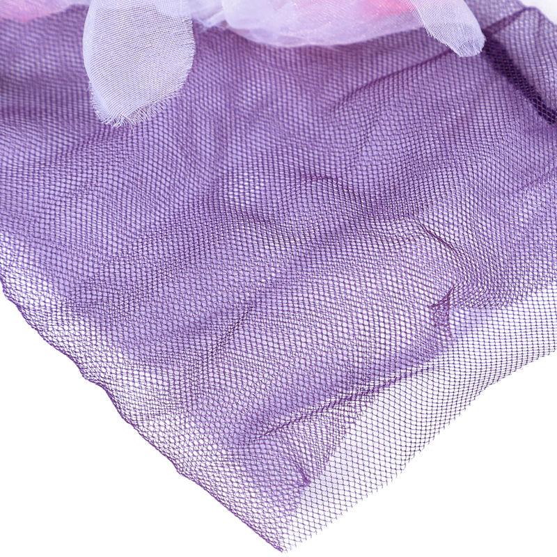 3X-Frauen-reizvolle-grosse-Blumen-Maschen-transparente-Elastizitaets-Socken-D4T5 Indexbild 9