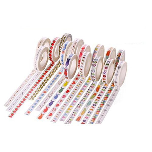 New Fashion 5x Washi Sticky Paper Masking Adhesive Decorative Tape Gift A8X6