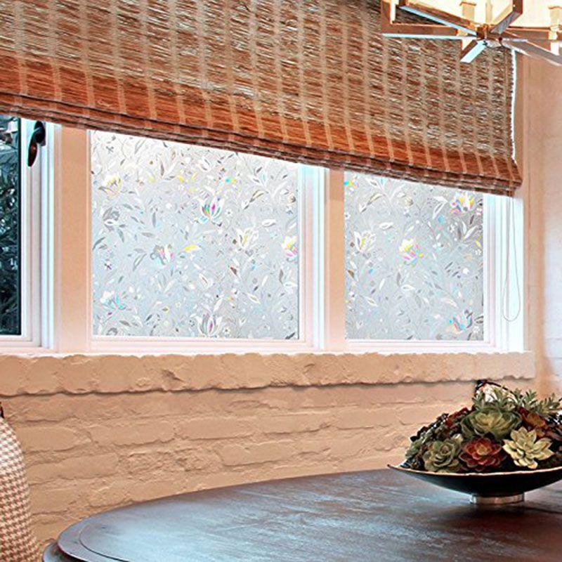 3d glas elektrostatische solarfolie anti hitze uv film verdunkelung fenster kd ebay. Black Bedroom Furniture Sets. Home Design Ideas