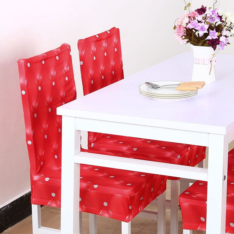Couverture-de-chaise-extensible-de-salle-a-manger-Housses-de-chaise-courtes-L-SC miniature 12