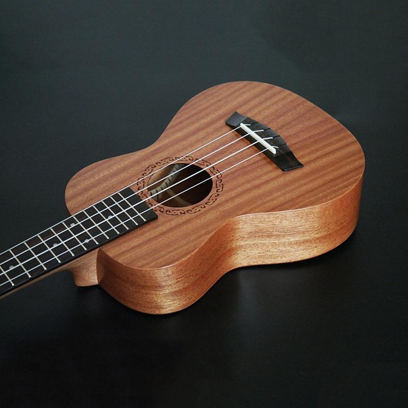 Ukulele-de-concert-4-cordes-Hawaiian-Mini-guitare-Instruments-de-musique-pour-68 miniature 3