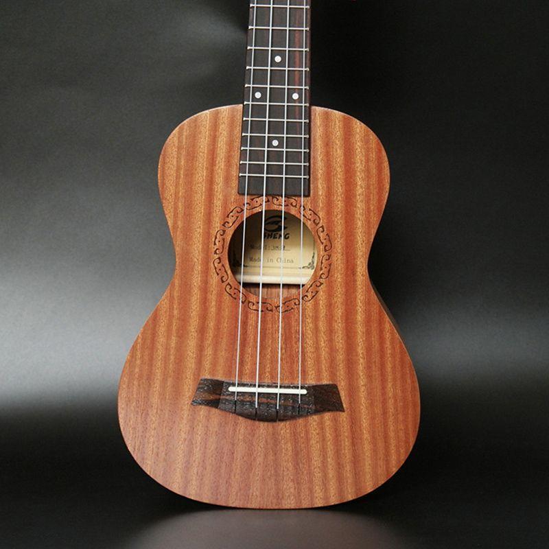 Ukulele-de-concert-4-cordes-Hawaiian-Mini-guitare-Instruments-de-musique-pour-68 miniature 6