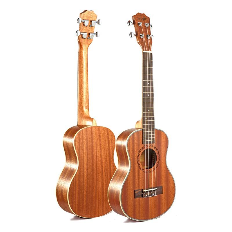 Ukulele-Gitarre-4-Saiten-Hawaiian-Gitarre-akustische-Gitarre-Ukulele-H2M2 Indexbild 3