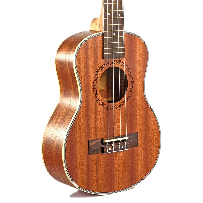 Ukulele-Gitarre-4-Saiten-Hawaiian-Gitarre-akustische-Gitarre-Ukulele-H2M2 Indexbild 5