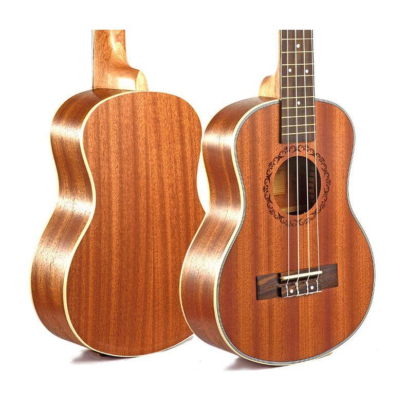 Ukulele-Gitarre-4-Saiten-Hawaiian-Gitarre-akustische-Gitarre-Ukulele-H2M2 Indexbild 6