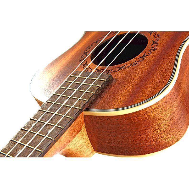Ukulele-Gitarre-4-Saiten-Hawaiian-Gitarre-akustische-Gitarre-Ukulele-H2M2 Indexbild 10