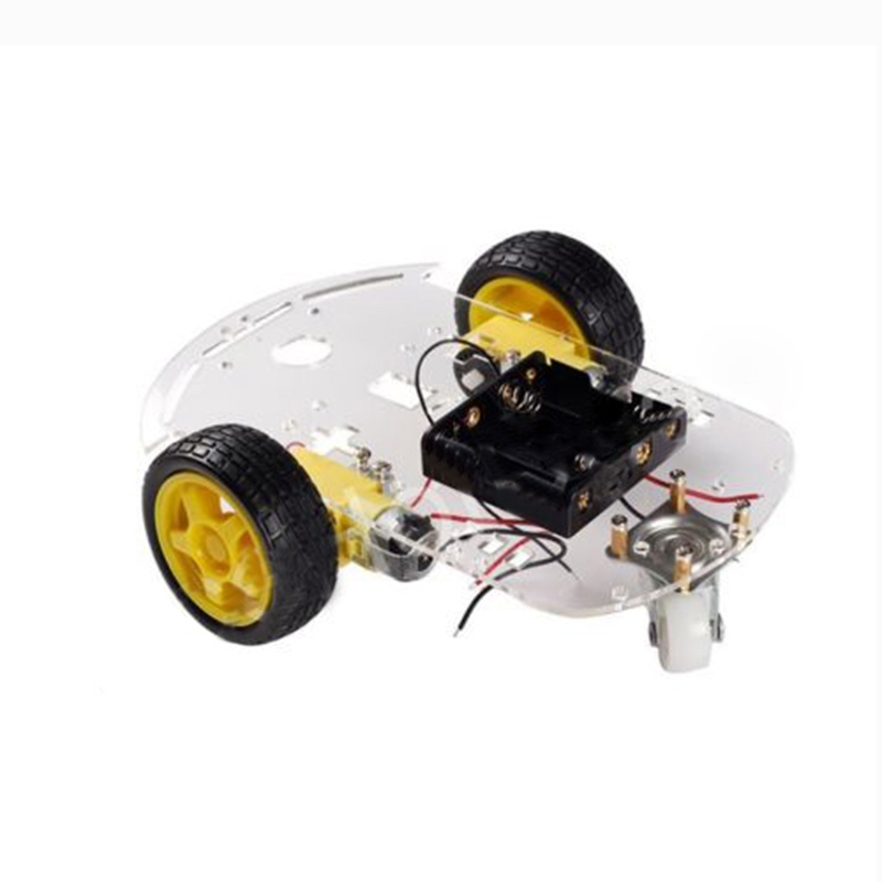 Details about 2WD Motor Smart Robot Car Chassis Kit Speed Encoder Battery  Box for Arduino W1Z3