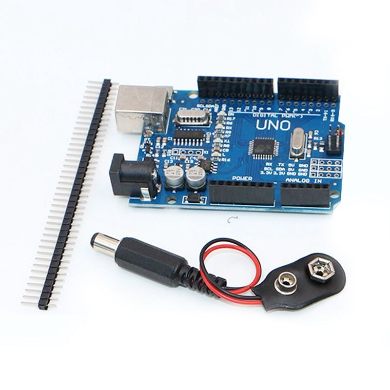 Starter Kit for Uno R3 - Bundle of 5 Items: Uno R3, Breadboard ...
