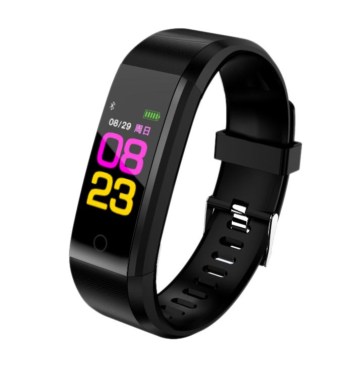 115plus-Smart-Bracelet-Fitness-Tracker-Step-Counter-Smartband-Recordatorio-d-PB miniatura 3