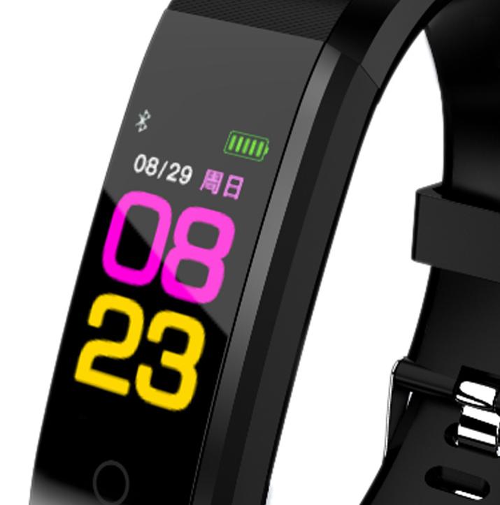 115plus-Smart-Bracelet-Fitness-Tracker-Step-Counter-Smartband-Recordatorio-d-PB miniatura 6
