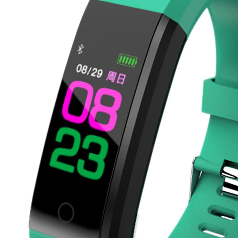 115plus-Smart-Bracelet-Fitness-Tracker-Step-Counter-Smartband-Recordatorio-d-PB miniatura 12