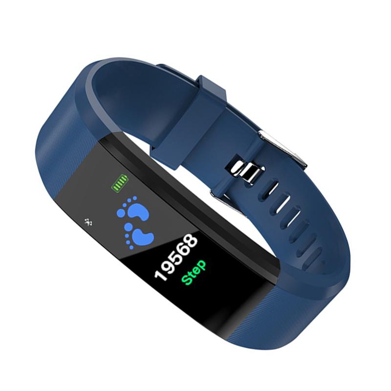 115plus-Smart-Bracelet-Fitness-Tracker-Step-Counter-Smartband-Recordatorio-d-PB miniatura 22