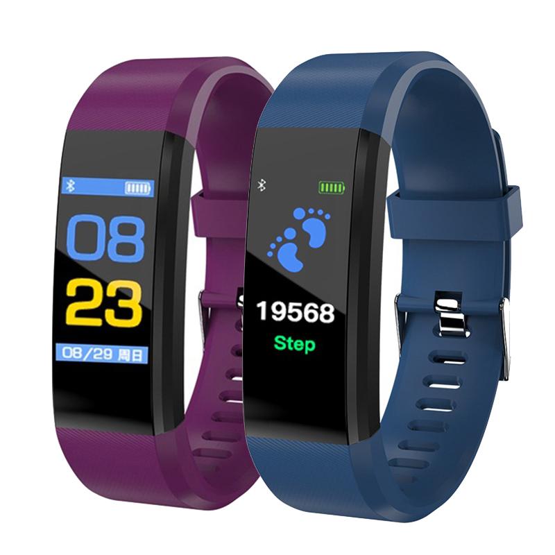 115plus-Smart-Bracelet-Fitness-Tracker-Step-Counter-Smartband-Recordatorio-d-PB miniatura 24