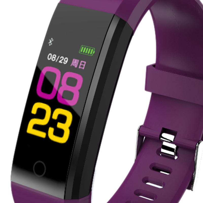 115plus-Smart-Bracelet-Fitness-Tracker-Step-Counter-Smartband-Recordatorio-d-PB miniatura 29