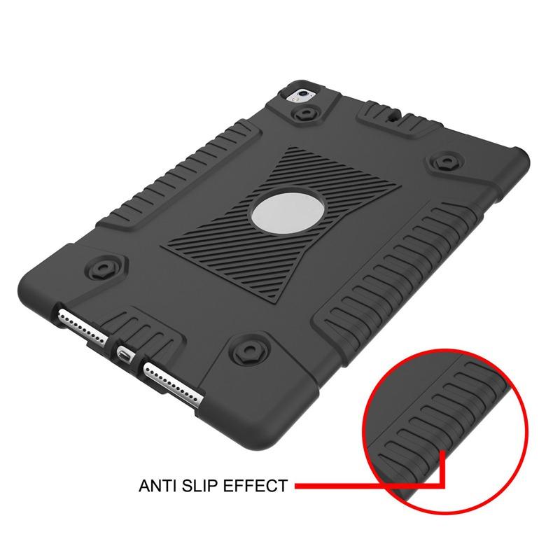 2X-Para-Apple-iPad-9-7-pulgadas-2017-gel-de-silice-resistente-a-prueba-de-gX1C6 miniatura 3