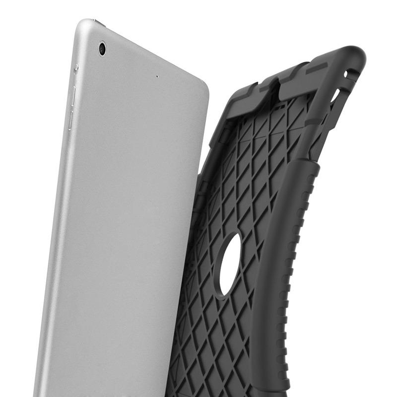 miniature 5 - Pour Apple iPad 5 Caoutchouc Silicone Robuste stossfestes Gehaeuse c8s8