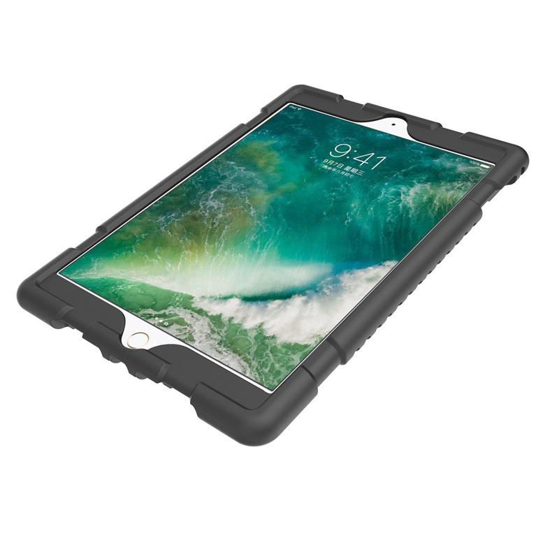 miniature 6 - Pour Apple iPad 5 Caoutchouc Silicone Robuste stossfestes Gehaeuse c8s8