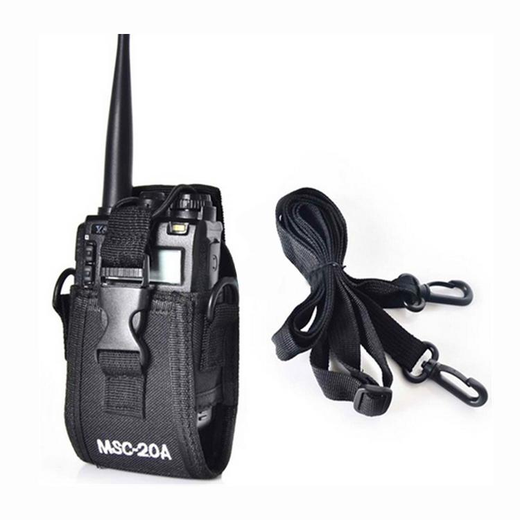 caja-de-walkie-talkie-MSC-20A-Bolso-bolsa-sostenedor-para-Kenwood-BaoFeng-UV-5L2