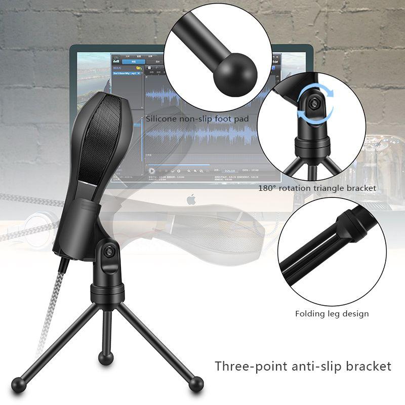 Microfono-USB-Microfono-condensador-profesional-omnidireccional-Microfono-USB-F8