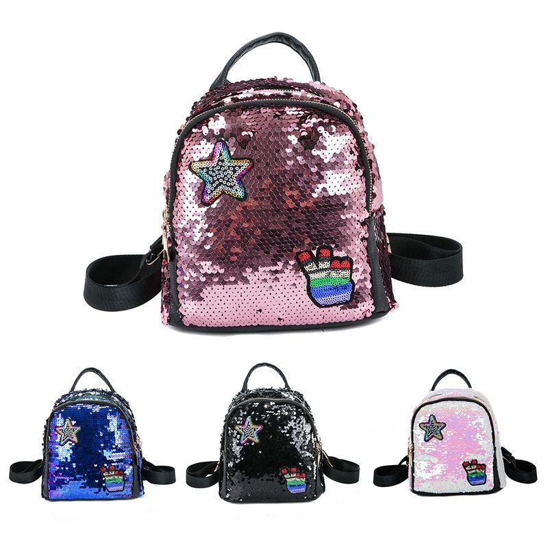 Backpack female bag small backpack