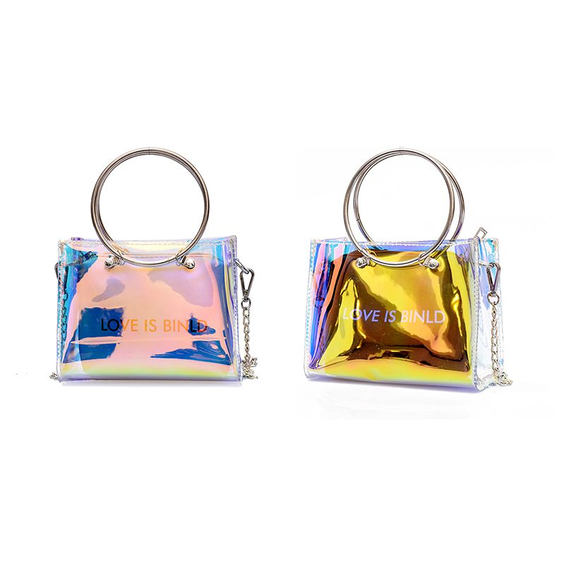 2cf385c4312 Image is loading Fashion-Women-Shoulder-Bag-Set-Clutch-Jelly-Crossbody-