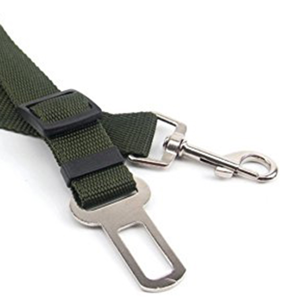 3X-Laisse-de-securite-voiture-pour-chien-armee-verte-L8T3-RW1 miniature 6