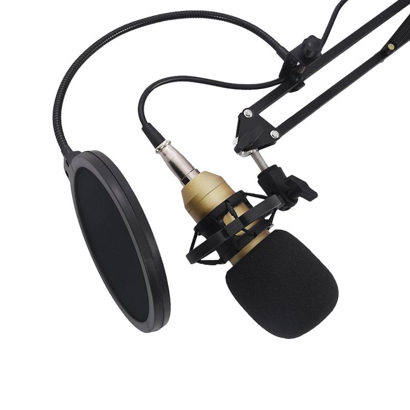 BM800-Condenser-Microphone-Kit-Studio-Suspension-Boom-Scissor-Arm-Sound-Car-I5X2 thumbnail 13