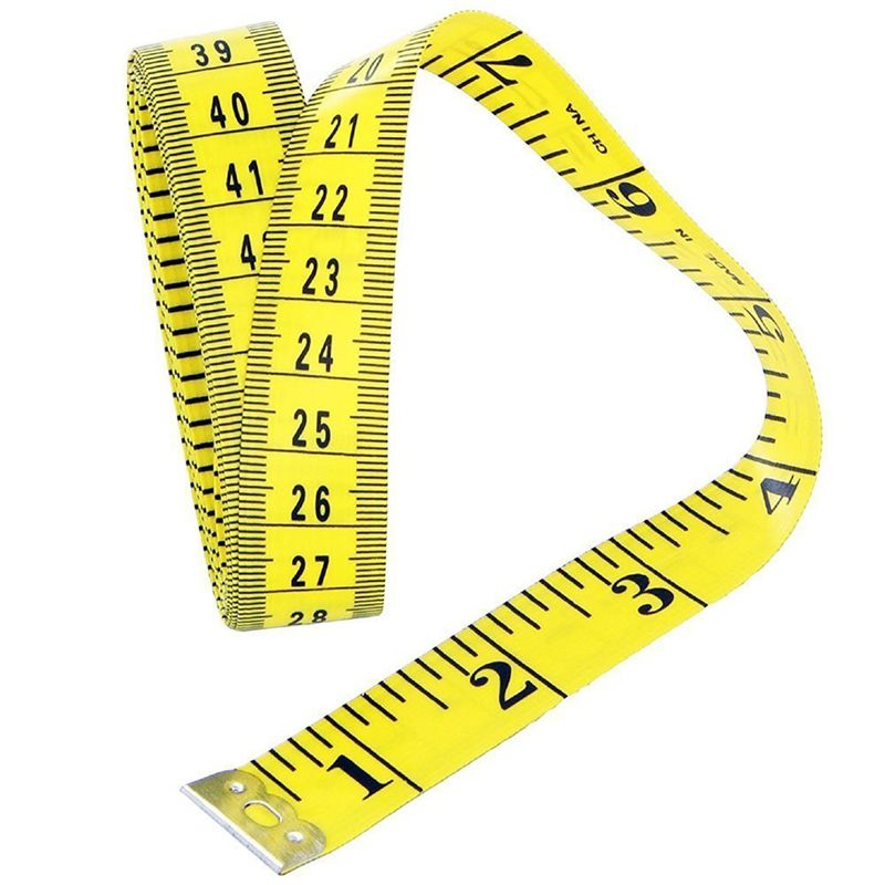 3-metres-300CM-Ruban-doux-a-tailleur-de-couture-Regle-de-mesure-de-corps-Reg-1M miniature 3