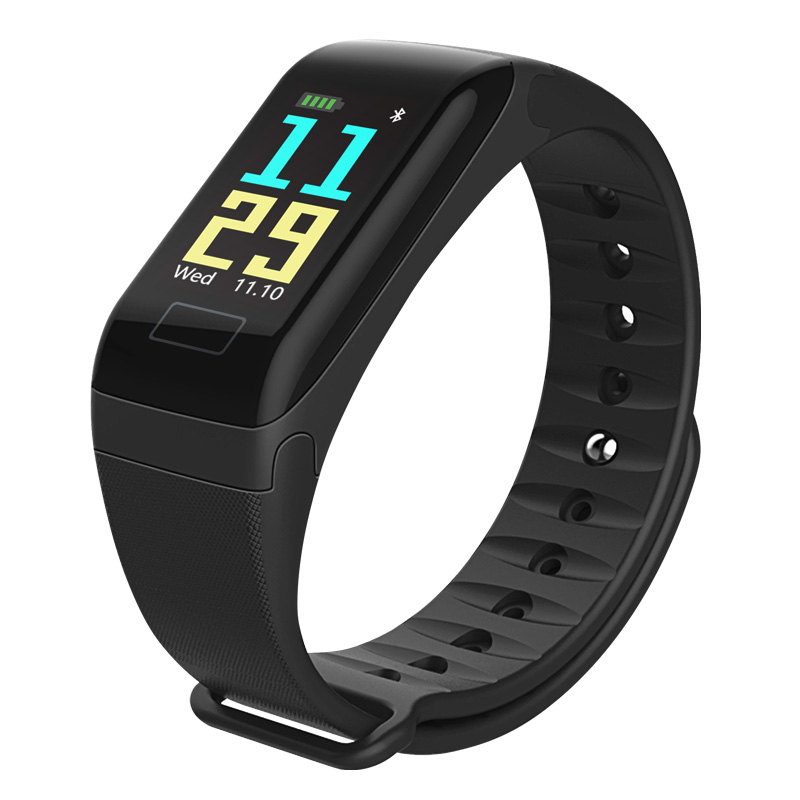 F1-smart-bracelet-color-screen-heart-rate-blood-pressure-exercise-step-wate-P4K7 thumbnail 2