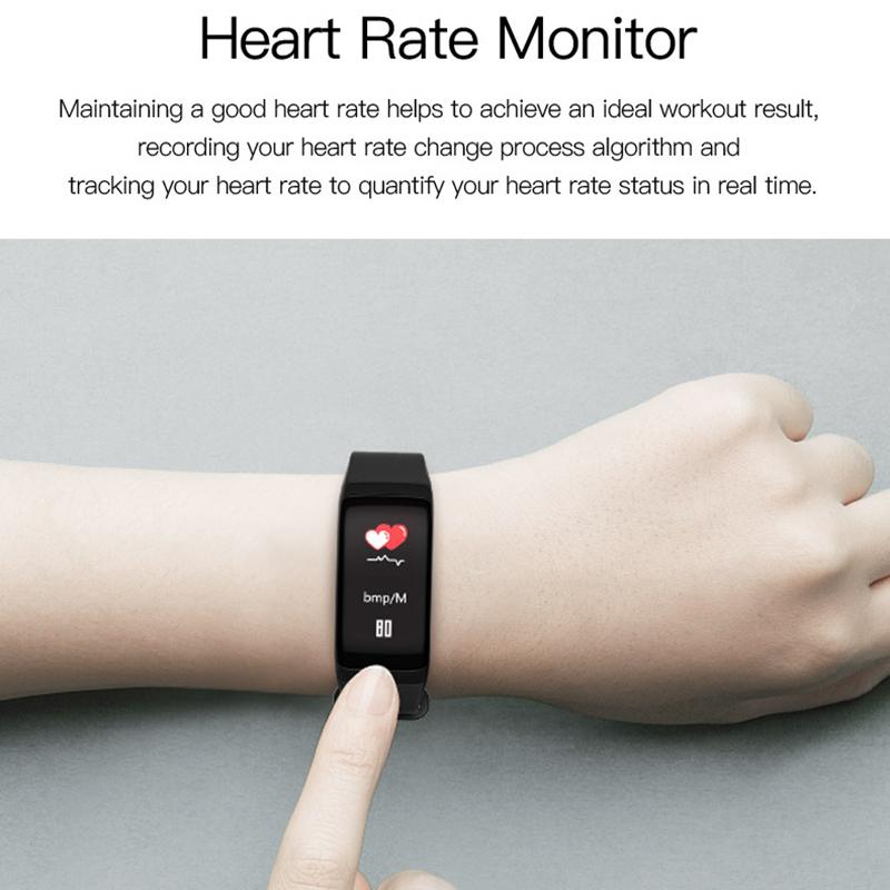 F1-pulsera-inteligente-pulsera-impermeable-de-ejercicio-paso-presion-R2H3 miniatura 13