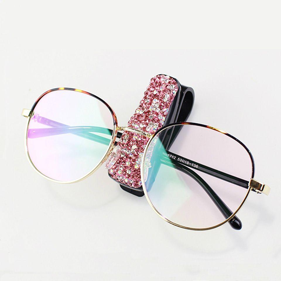 REFURBISHHOUSE Portable Clips Car Vehicle Sun Visor Sunglasses Eyeglasses Glasses Ticket Holder Clip