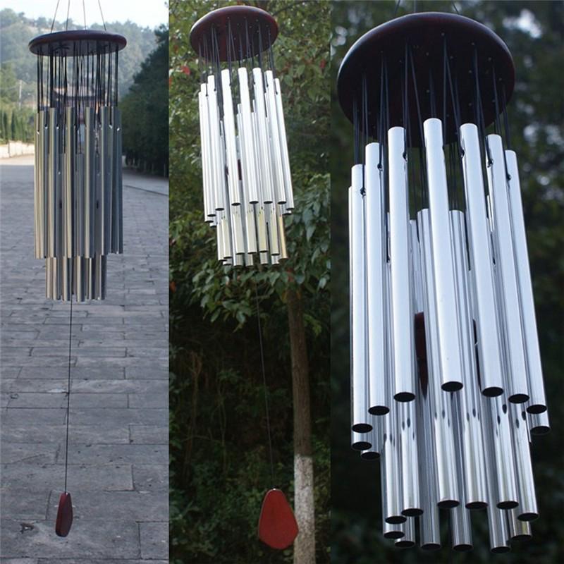 Klang Windspiel Kapelle Kirche Glocke Windchime Hof Blasen Hängend Haus Dekor