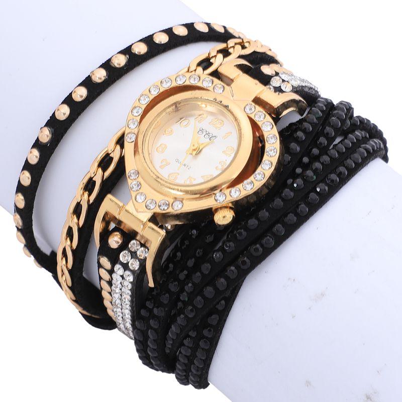 2X-CCQ-Montre-complete-de-marque-de-luxe-de-mode-Montres-a-quartz-tressee-dQ4A7 miniature 8
