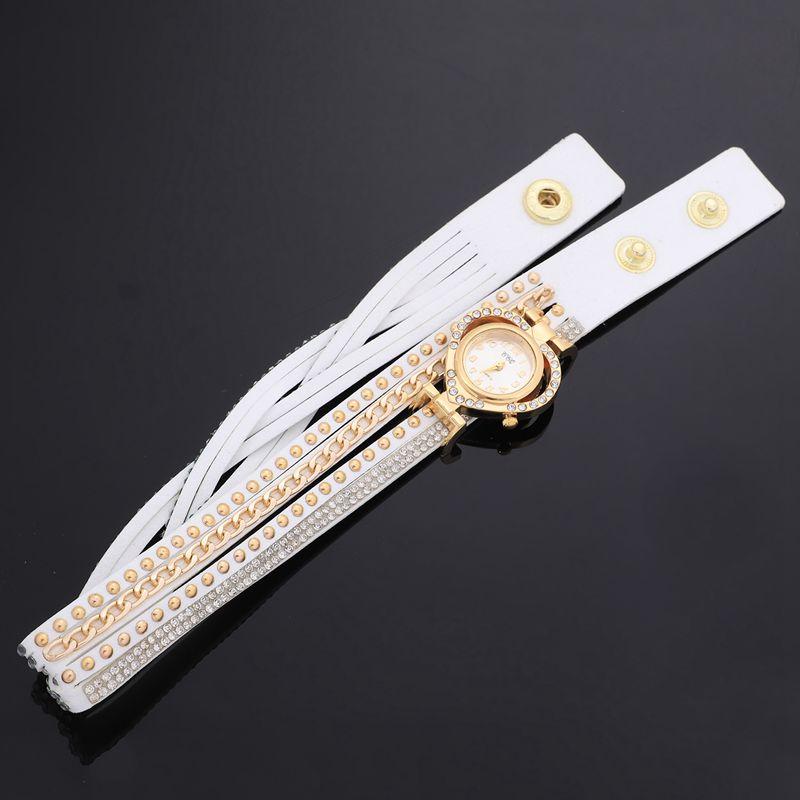 2X-CCQ-Montre-complete-de-marque-de-luxe-de-mode-Montres-a-quartz-tressee-dQ4A7 miniature 30