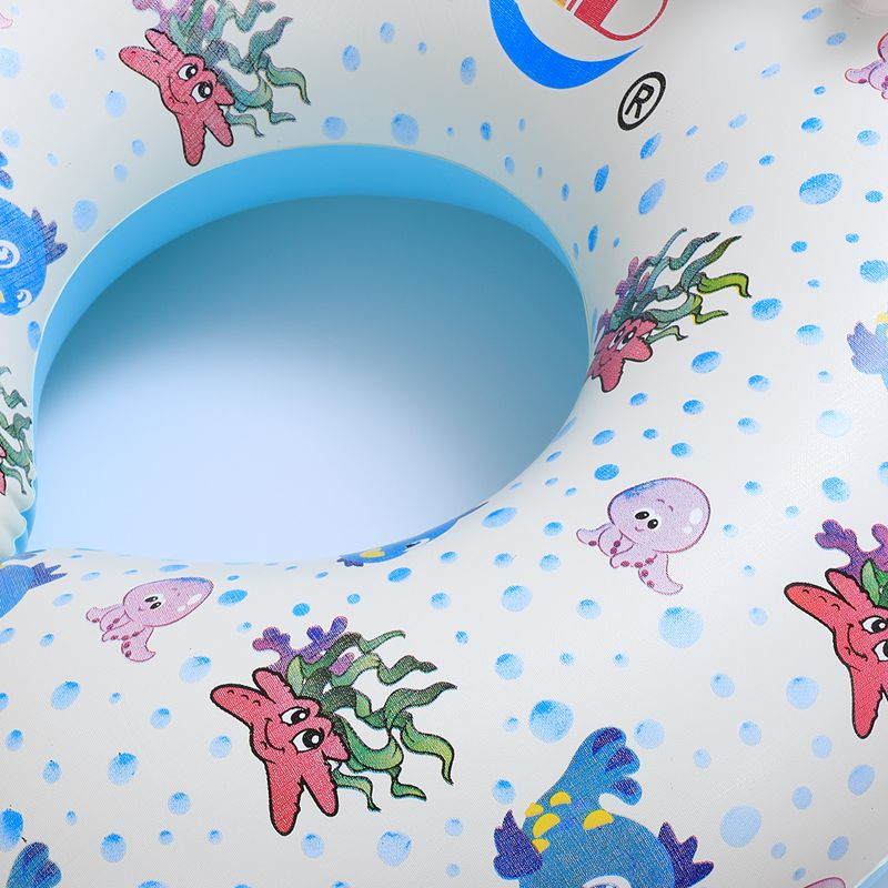 Safe-Soft-Inflatable-Mother-amp-Baby-Swim-Float-Ring-Kids-Seat-Double-Person-Sw-H7V7 miniature 8