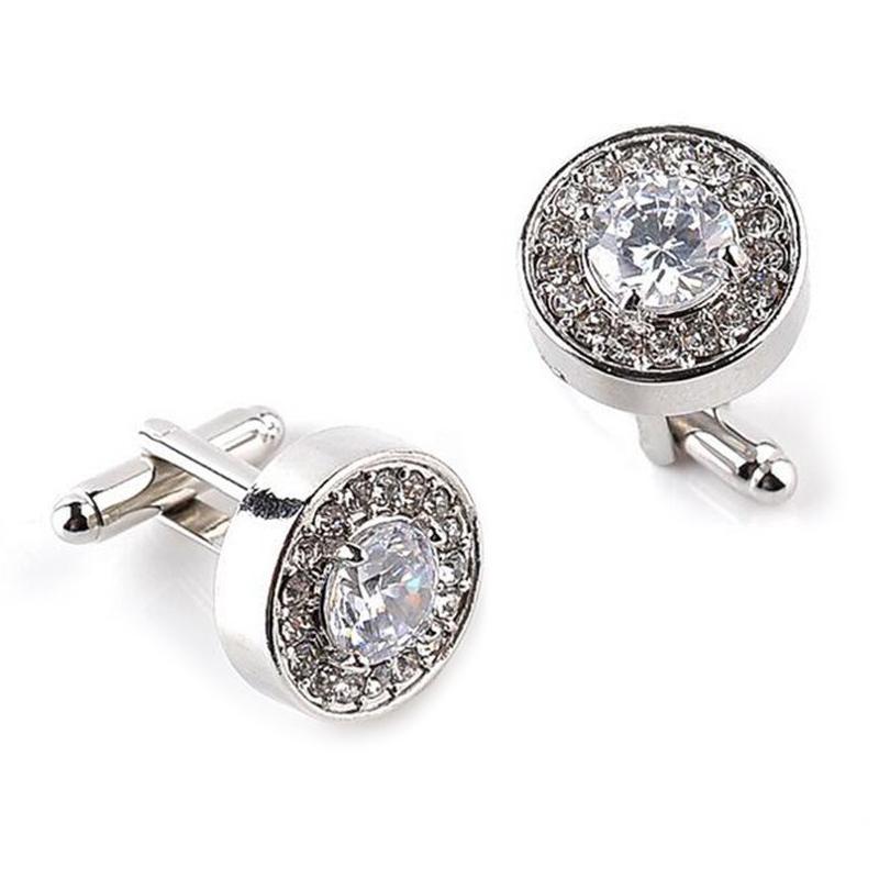 5X-1-Pair-Fashion-Diamond-Cufflinks-Cuff-Links-Womens-Mens-Dress-Business-Wed-MO thumbnail 4
